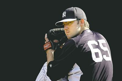 MATT SLOCUM / THE ASSOCIATED PRESSNew York Yankees� Phil Hughes will be day-to-day as he recovers.