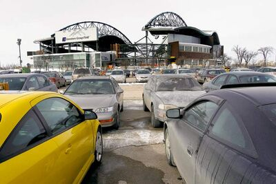 A season parking pass will cost Bomber fans $210 this year, up from $110 in 2012.SClB