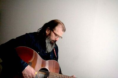 Guitarist Steve Earle