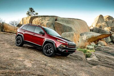 The 2014 Jeep Cherokee Trailhawk midsize SUV made its debut last week at the New York International Auto Show.