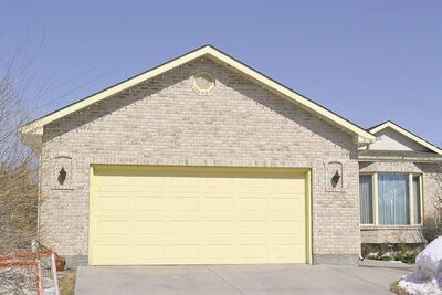 Sometimes a garage can seem larger than the home to which it is attached.