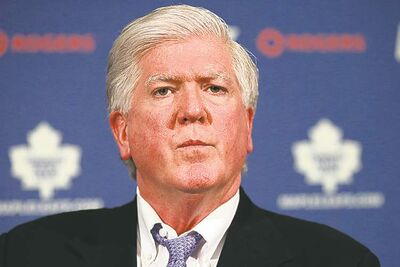 Chris Young / the canadian press archivesFormer Leafs GM Brian Burke has filed suit against 18 still unidentified people.