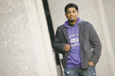 Kabilan Mohanarajan, a volunteer at the Canadian Mental Health Association, is helping to organize Be Well Winnipeg.