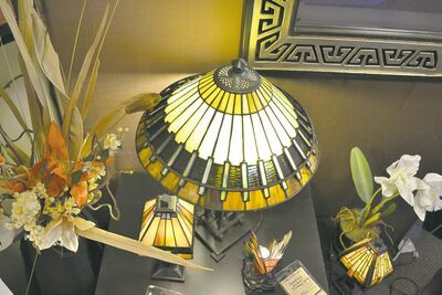 Tiffany-style lamps have never  gone out of vogue.