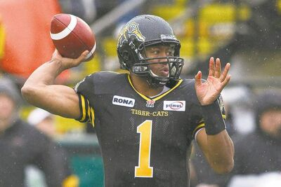 Slippery Hamilton quarterback Henry Burris should prove a more elusive target than the lead-footed Anthony Calvillo.
