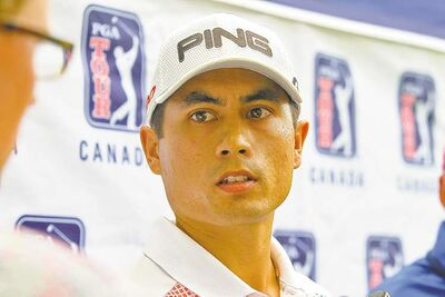 Peter Campbell was the top Canadian Thursday and had a share of the lead.