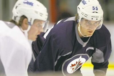 Mark Scheifele is working with NHLers and trainers at a camp in Toronto, with an eye on maximizing his game and cracking the Jets' lineup this fall.
