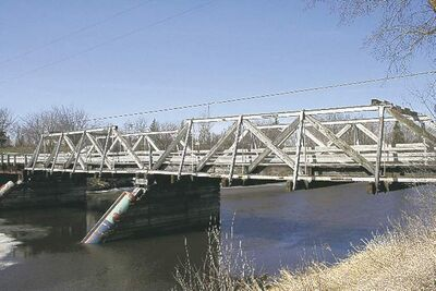 A new bridge will cost $1.6 million. About $1.2 million has been collected.