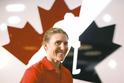 Jeff McIntosh / The Canadian PressHayley Wickenheiser and her Canuck teammates want to see what�s in store for them in Sochi in 2014.