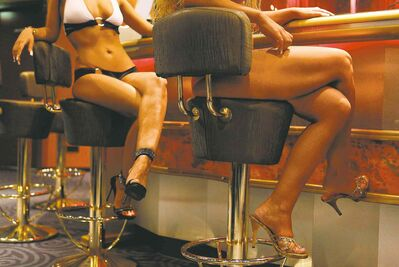 Franka Bruns / The Associated PressThe best guess is that Germany has about 400,000 prostitutes catering to one million men a day.