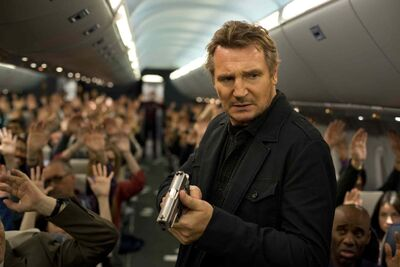 Non-Stop wants to be Die Hard on a plane (note the presence of producer Joel Silver), but in its final act ends up closer to the misbegotten Jodie Foster thriller Flightplan.