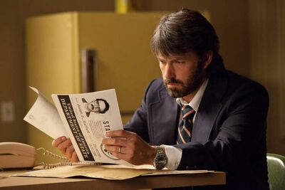 Ben Affleck portrays a CIA agent tasked with rescuing U.S. diplomats from Tehran.