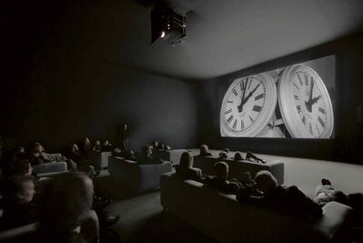 The Clock, by Swiss artist and composer Christian Marclay, is a 24-hour montage of film, linked together by the aspect of time.  Catch all 24 hours at the WAG between 6 p.m. Dec. 31 and 6 p.m. Jan. 1.