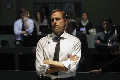 Mark Strong as a behind-the-scenes agent in Zero Dark Thirty.