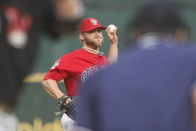 Winnipeg Goldeyes lefty Chris Salamida got the win Saturday at Shaw Park over Wichita.