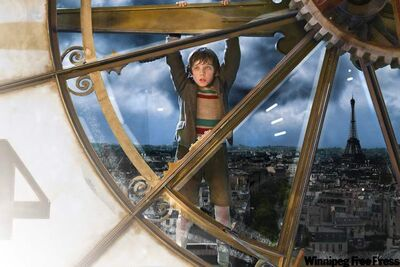 Asa Butterfield plays Hugo Cabret in Hugo, Martin Scorcese's foray into 3-D.