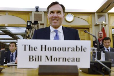 Adrian Wyld / The Canadian Press</p><p>Finance Minister Bill Morneau&rsquo;s comments drew criticism from NDP MP Daniel Blaikie, who labelled him &ldquo;a high-finance Toronto type.&rdquo;</p>