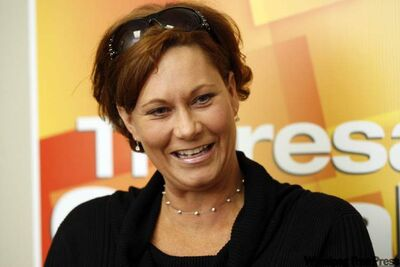 NDP candidate for Seine River Theresa Oswald.