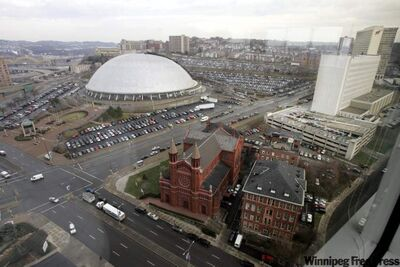 The dome of Pittsburgh's Civic Arena is seen in 2006.