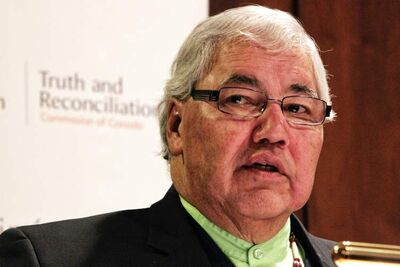 The Honourable Justice Murray Sinclair, chair of the Truth and Reconciliation Commission