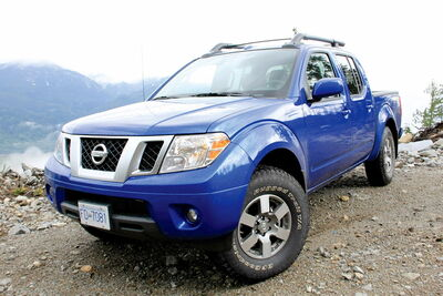 July 24 -- The 2013 Nissan Frontier PRO-4X features a 4.0-litre V-6 engine that offers plenty of muscle to get you in and out of traffic. (JUSTIN MASTINE-FROST/POSTMEDIA NEWS)