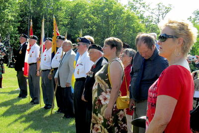 There were plenty of events to be part of during the celebration of Charleswood's 100th birthday, including a Saturday-evening gathering at the Charleswood Memorial to pay tribute to veterans.