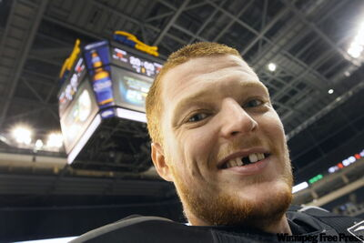Moose goalie Cory Schneider didn't get his gap-tooth grin at the rink. One time in high school, he got up too fast, fainted, did a face plant and left his two front teeth on the floor.