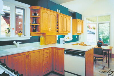You may require a graining tool if you are hoping to paint over your old wooden kitchen cupboards.