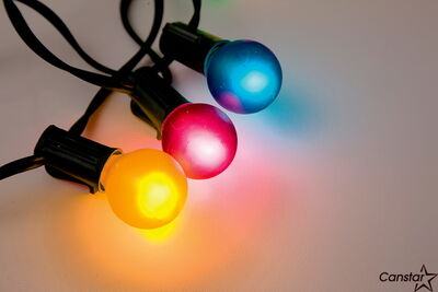 Christmas lights can be donated, or you can sell the copper wire.