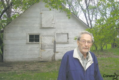 George Doney says he will be sorry to see this former barn and chicken coop disappear from the St. Vital landscape.