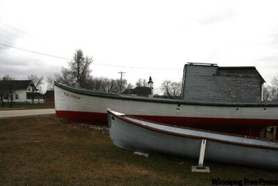 Residents of Hecla Island were isolated until the 1950s, when electricity and regular ferry service to the mainland were introduced.