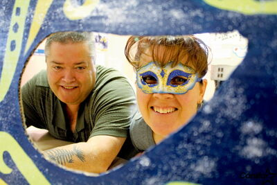 Come for the spice, stay for the fun. Steven Bemrose and Paula Roeder of R. A. Steen CC say the club's Mardi Gras-themed winter carnival is open to the city.