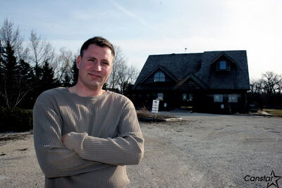 Dwayne Clark continues opposing a condo development on the former Medicine Rock Cafe site.