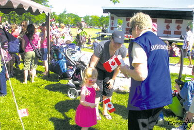 Community members enjoy previous Canada Day celebrations in St. Boniface.