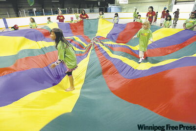 More than 700 inner-city children are participating in the Eco-Kids camp at Sargent Park Arena.