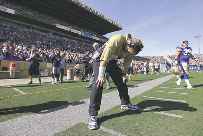 It was that kind of day for the Bombers and their coaching staff on Sunday. It's been that kind of day for most of the season.