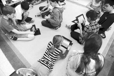 Mary F. Calvert / Zuma Press / MCT ARCHIVESAlmost half of children aged six to 12 surveyed in the U.S. said they want an iPad for Christmas. The next popular item is Nintendo Wii U, which launched recently.