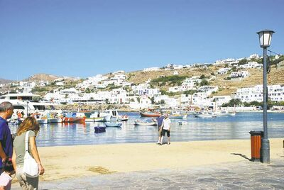 The southernmost Greek Islands offer a unique winter option for snowbirds.