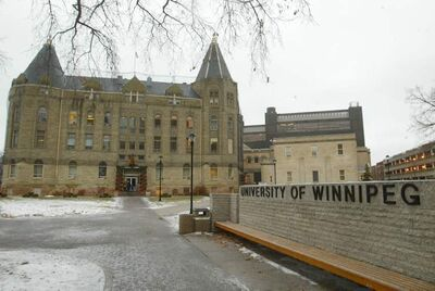 The University of Winnipeg.