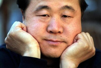 Chinese writer Mo Yan won the 2012 Nobel Prize for literature.