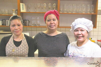 Some of the staff at Thaitations, the latest addition to the menu of culinary choices in Transcona.