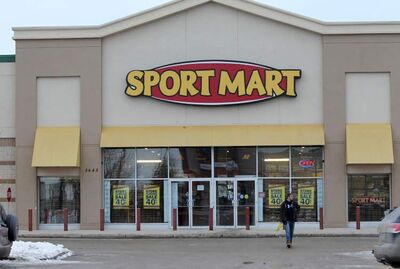 Winnipeg's last Sport Mart, at the Unicity mall, is slated to close March 17.