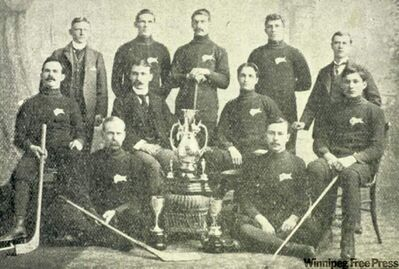 Winnipeg Victorias in 1899