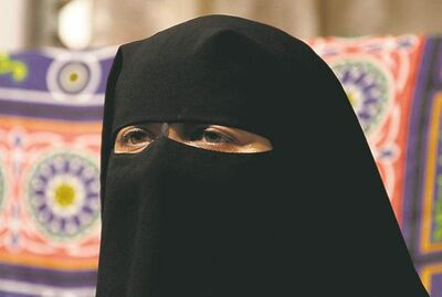 Maya Alleruzzo / THE ASSOCIATED PRESS ARCHIVESSuspects claim a woman testifying while wearing a niqab interferes with their ability to see her facial expressions.