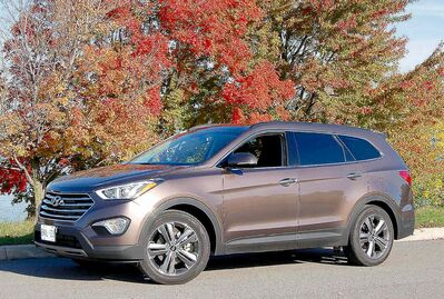 The Hyundai XL looks like a regular Santa Fe, but it is bigger and has an interior that makes driving in heavy traffic tolerable.