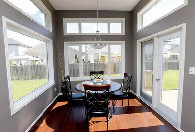 eating area -27 Wainwright Crescent in River Park South . Contact is Ventura Custom Homes��� Paul Saltel, story bt Todd Lewys ���June 23 2014 / KEN GIGLIOTTI / WINNIPEG FREE PRESS