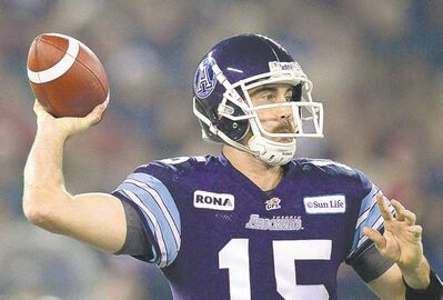 Frank Gunn / the canadian press archivesQB Ricky Ray led the Argos to a Grey Cup championship in his first season with the Double Blue.
