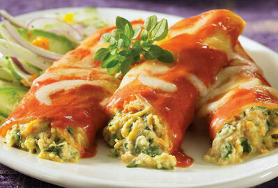 Sweet potato cannelloni is among the dishes included in The Best of Bridge Ladies Slow Cooker  Cookbook.