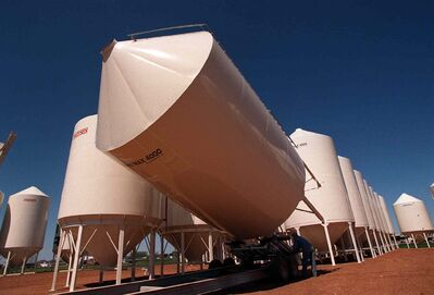Winkler's Meridian Manufacturing develops grain bins, among other products. It has had trouble attracting more workers.