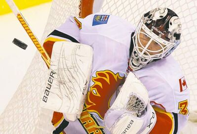 Miikka Kiprusoff leaves holding team records for wins (305), games played (576) and shutouts (41).